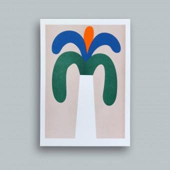 stefanizen – Palme – A5 Risoprint, Risodruck