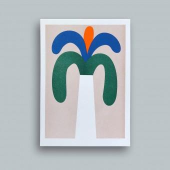stefanizen Palme — Riso Print A5