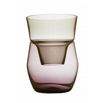 Annika Sparkes Produktdesign Roadie one vase   two pieces   three archetypes (stahlgrau/ amethyst)