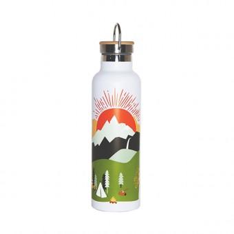 Roadtyping Mountain Adventure  isolierte Edelstahl Flasche 750ml