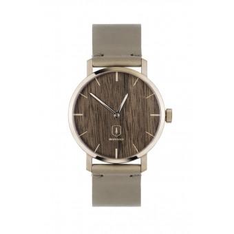 """BeWooden Damen Uhr mit dunklem Holz """"Rose Watch"""""""