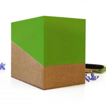 sperlingB – Samentüten-Box, maigrün, Sammelbox mit Samentüten, Geschenk für Gärtner