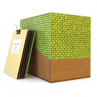 sperlingB – Samentüten-Box,  hellgrün, Sammelbox mit Samentüten, Geschenk für Gärtner