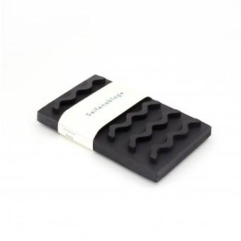 Seifenablage / schwarz / objet vague
