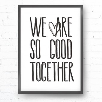 Kruth Design POSTER / GOOD TOGETHER