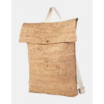 ein garten – corkskin backpack myrtonatural goldflakes