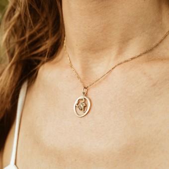 ST'ATOUR SCORPIO // SKORPION – Sternzeichenkette in Gold, Silber oder Roségold