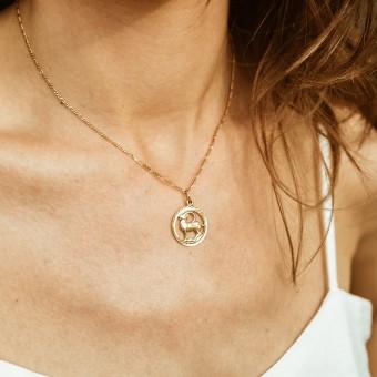 ST'ATOUR CAPRICORNUS // STEINBOCK – Sternzeichenkette in Gold, Silber oder Roségold