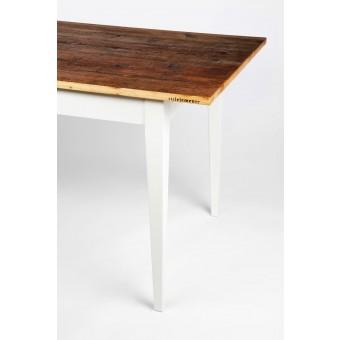 """stilelemente """"UNIK"""" Tisch mit Platte aus Altholz"""