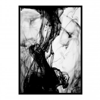 na.hili STRONG movement - black Artprint A3 Poster, 50x70, A1 Poster