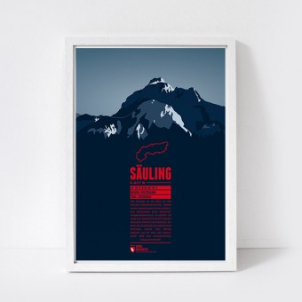 Marmota Maps – Säuling - Bergdruck