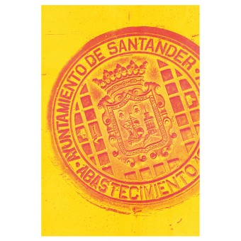 Haus der Riso - Santander - A3 Risograph-Druck