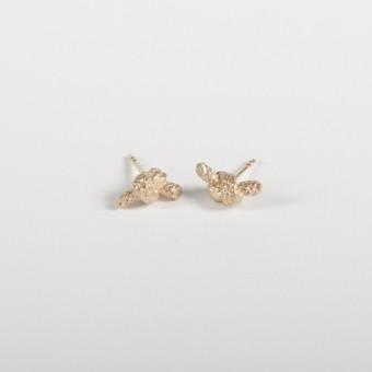 vivian meller jewellery Seil Ohrstecker Gold 585