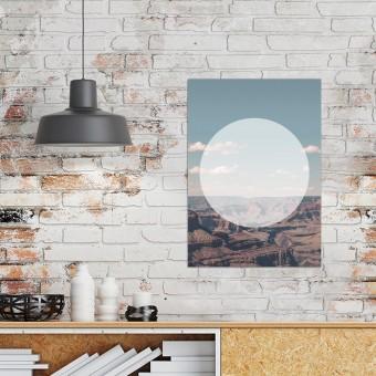 JOE MANIA / Modern Artprint Poster / Landscapes Circular 1 (Grand Canyon) DIN A4 - A0