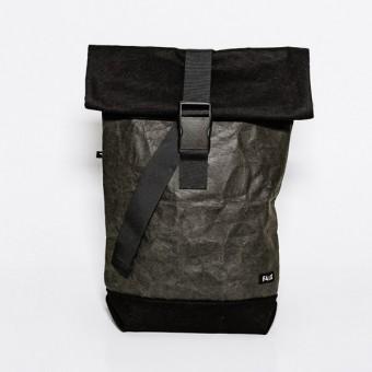 Faix-Design Rucksack BLACK ON BLACK (vegan/fair/transparent)