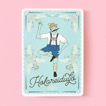 HEIMATFORMAT HOLAREIDULJÖ - Franzl // Bayerische Postkarte