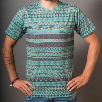 Unisex T-Shirt Shangrila green