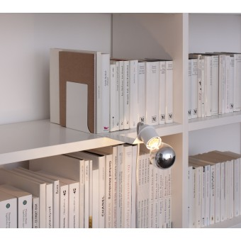 toshi SKIPPER Buchstützenleuchte (weiß)