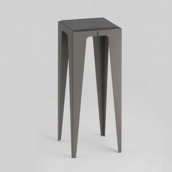 KONSOLE KLEIN CHAMFER schiefer-schwarz | nachhaltiges Möbeldesign | WYE