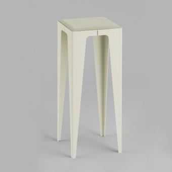 KONSOLE KLEIN CHAMFER seiden-grau | nachhaltiges Möbeldesign | WYE