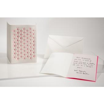 formes Berlin Weihnachtsset, 3 Karten - Reliefkarte mit gelasertem Motiv, Einlegern und  Umschlag