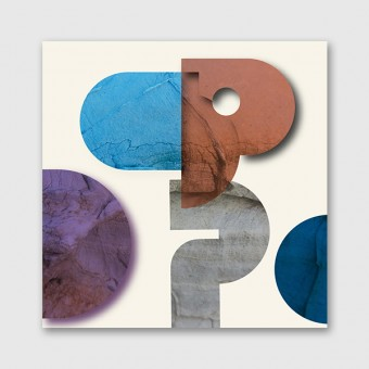 "ZEITLOOPS ""Stone.Elements."", Posterprint, 30x30 cm"