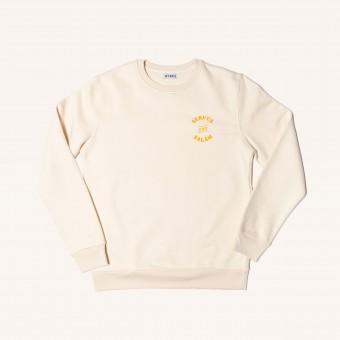 HYRES Unisex Sweater Servus & Salam Natural Cotton