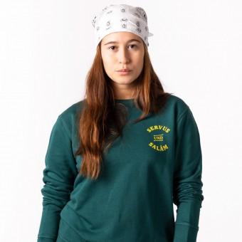 HYRES Unisex Sweater Servus & Salam / Glazed Green