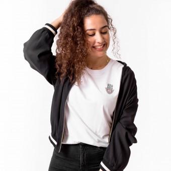 HYRES Unisex T-Shirt Hamsa white