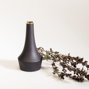 "Mini Vase ""Flip"" mit Goldrand – studio.drei"