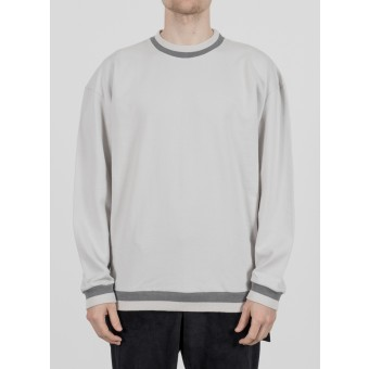 TRINITAS Street Crewneck Light Grey