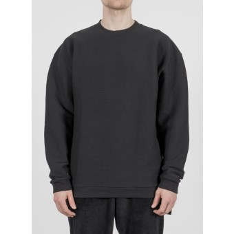 TRINITAS Fear Crewneck Black