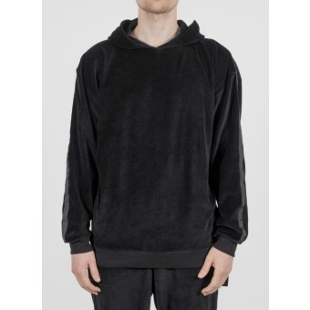 TRINITAS World Hooded Crewneck Black