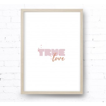 Kruth Design POSTER / TRUE LOVE