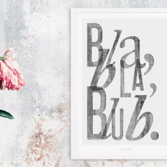 typealive / Bla Bla Blub