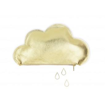 lille mus Wolkentäschchen - Gold