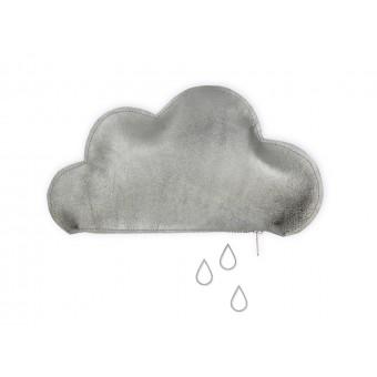 lille mus Wolkentäschchen - Silber