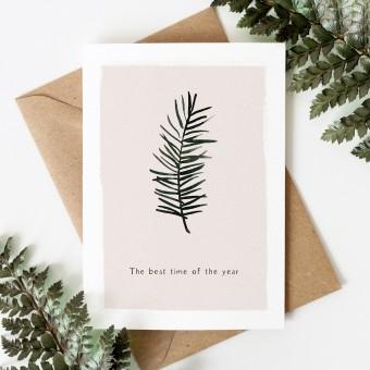 Paperlandscape | Weihnachtskarte | Tannenzweig