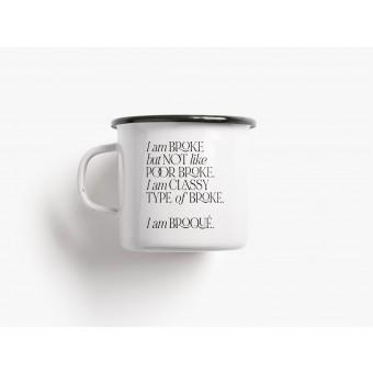 typealive / Emaillebecher Tasse / Broqué
