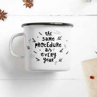 typealive / Emaillebecher Tasse / Procedure