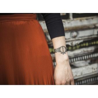Temporary Tattoo - relax watch (2er Set)