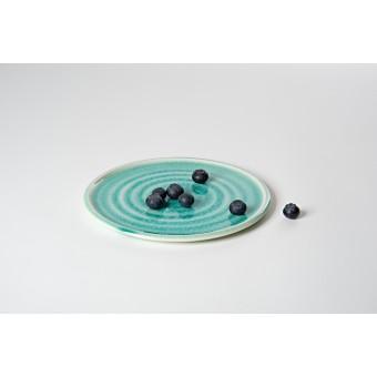 """Annika Schüler - porcelain Teller """"Seegras"""""""