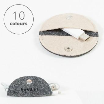 RÅVARE Kabelhalter Kabelorganizer in verschiednenen Farben [ODA]
