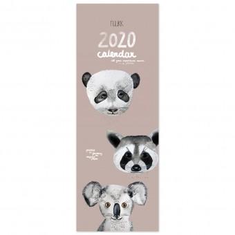TIERFREUNDE - 2020 KALENDER