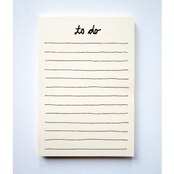 "PETERSEN Schreibblock ""To do"" (A5, 100 Blatt)"