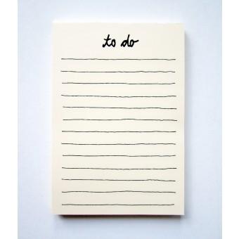 """PETERSEN Schreibblock """"To do"""" (A5, 100 Blatt)"""