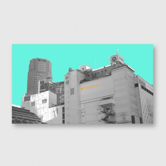 "ZEITLOOPS ""Tokyu, mint"", Fineartprint"
