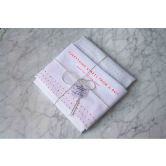 Studio Joa Herrenknecht Tea Towel Set - Everything starts from a dot.