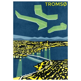 Haus der Riso - Tromsø - A3 Risograph-Druck
