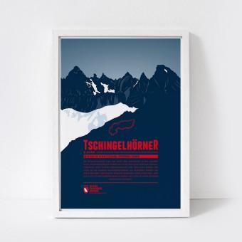 Marmota Maps – Tschingelhörner - Bergdruck